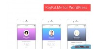 Paypal me for wordpress payments & donations