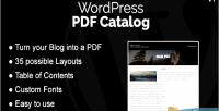Pdf wordpress catalog