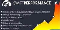 Performance swift wordpress booster performance cache