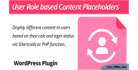 Placeholders content wordpress plugin