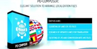 Po composer plugin to files localization manage