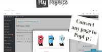 Popups fly for wordpress