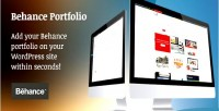 Portfolio behance for wordpress