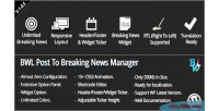 Post bwl to manager news breaking