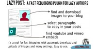 Post lazy plugin
