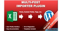 Post multi importer plugin