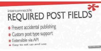 Post required wordpress for fields