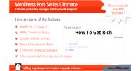 Post wordpress series ultimate
