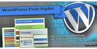 Wordpress post styler pretty plugin styles post