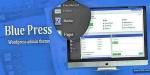 Press blue theme admin wordpress