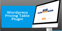 Pricing wordpress table paypal with generator