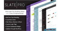 Pro a white label theme admin wordpress pro