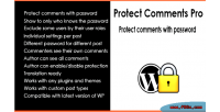 Protect comments pro protect password with comments