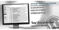 Protection spam prevention spam comment