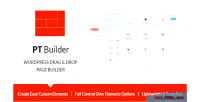 Pt builder wp drag builder page drop