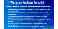 Publisher wordpress autopilot
