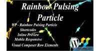 Pulsing rainbow particle