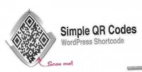 Qr simple shortcode wordpress codes