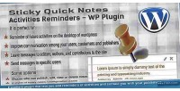 Sticky quick notes activities wp in reminders