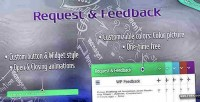 Request wordpress feedback plugin