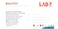 Responsive gmapper maps google styled