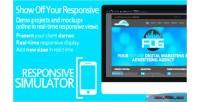 Responsive wp simulator