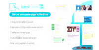 Review everest user & review admin wordpress for plugin
