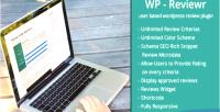 Reviewr wp pro