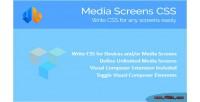 Screens media css