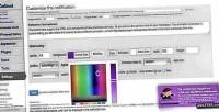 Scrolling responsive plugin wordpress notification