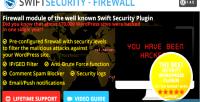 Security swift firewall