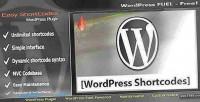 Shortcode easy wordpress for manager