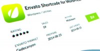 Shortcode envato wordpress plugin