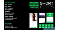 Shortcodes dgtheme wordpress plugin