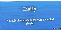 Chatty simple live chat wordpress for plugin