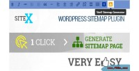 Sitemap sitex plugin wordpress generator
