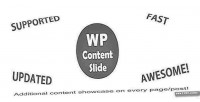 Slide contentslide content wordpress for plugin