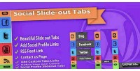 Social slide out tab plugin wordpress menus
