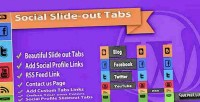 Social slide out tab plugin wordpress menus