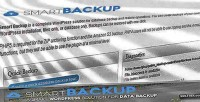 Smart wordpress backup