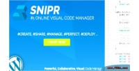 Snipr wp editor code collaborative