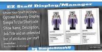 Staff ez management & display