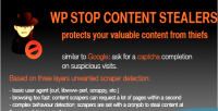 Stop wp content stealers