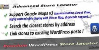 Store advanced wordpress for locator