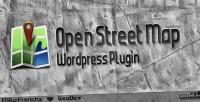 Street open map plugin