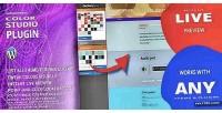 Studio color for wordpress