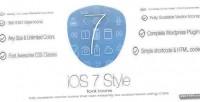 Style ios7 font plugin wordpress icons