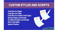Styles custom & scripts