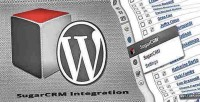 Sugarcrm wordpress integration