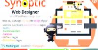 Synoptic web designer best tool design wordpress